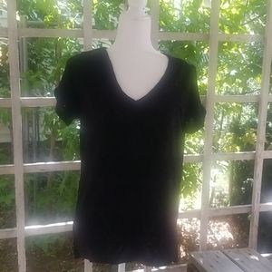 Peace and Pearl's Size S Small black Top New NWT